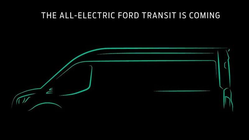 Ford анонсировал электрический Transit