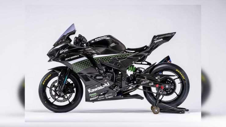 Kawasaki представляет новую гоночную модель ZX-25R