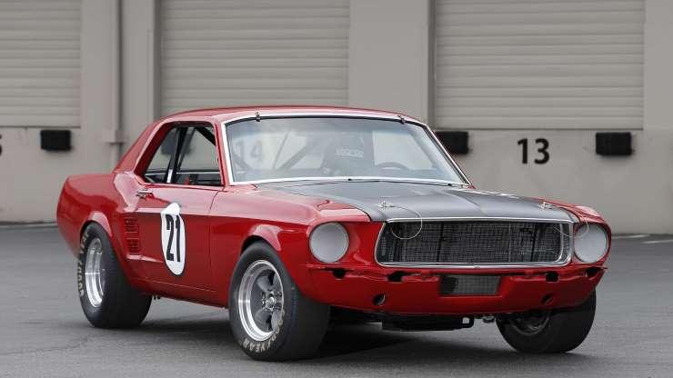 Этот 1967 Mustang Coupe создан для старинных Trans Am Specs