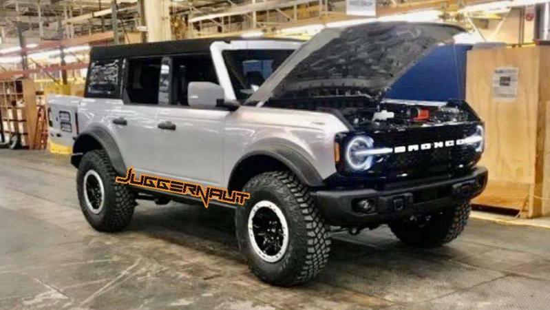Ford Bronco покажут этой весной