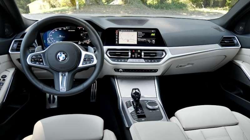 2020 BMW M340i : Тест внутреннего салона