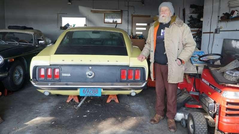 Найден оригинальный владелец 1970 Boss 302 Mustang, который был куплен 50 лет назад