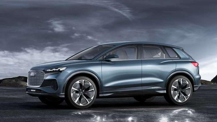 Audi Q4 e-Tron появится в 2021 году