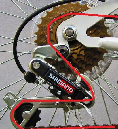 Как заменить цепь на велосипеде?