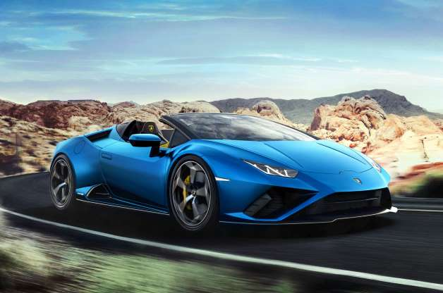 Представлен новый Lamborghini Huracan Evo RWD Spyder