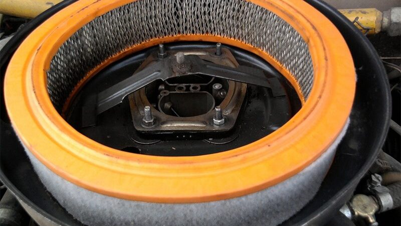Воздушный фильтр двигателя: принцип работы и виды устройства