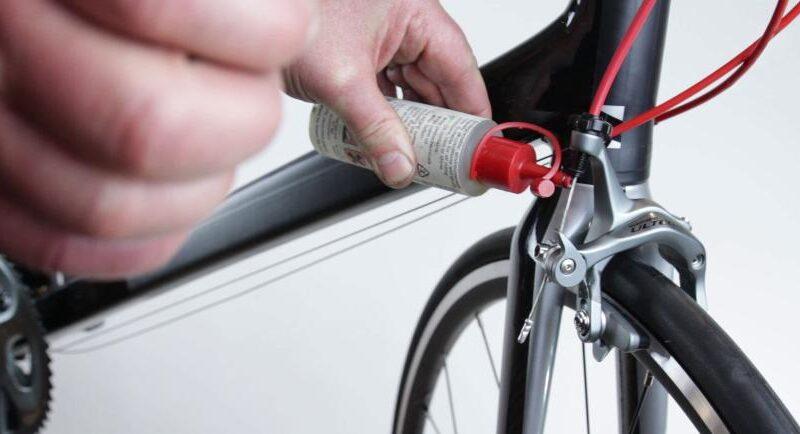 Как смазать вилку велосипеда?