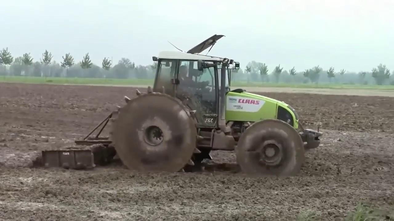 Рисовые трактора