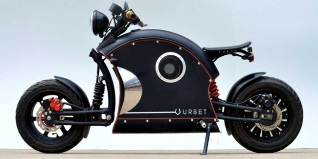 Электробайк Urbet Ego: от скутера в мотоцикл