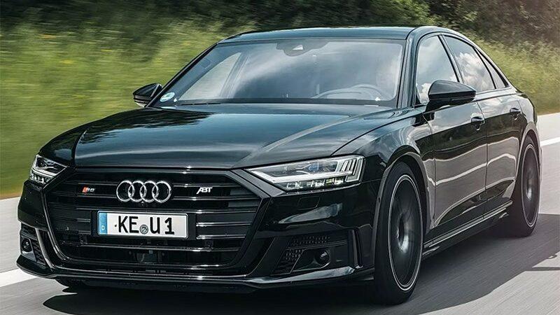 Audi S8 превратили в супер-седан