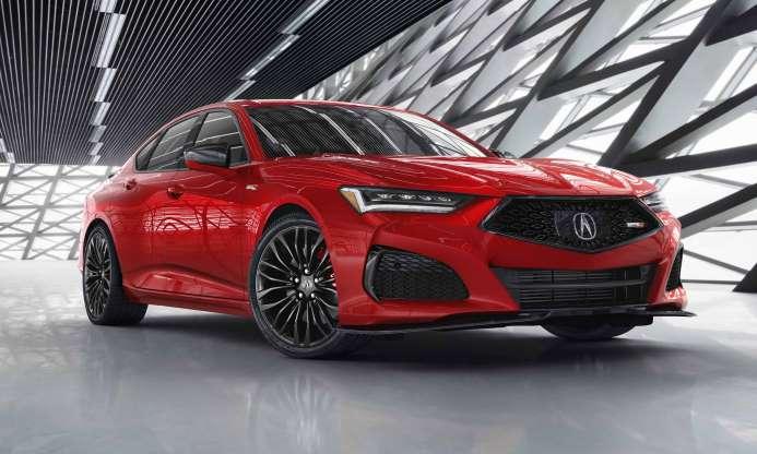 2021 Acura TLX: первый взгляд