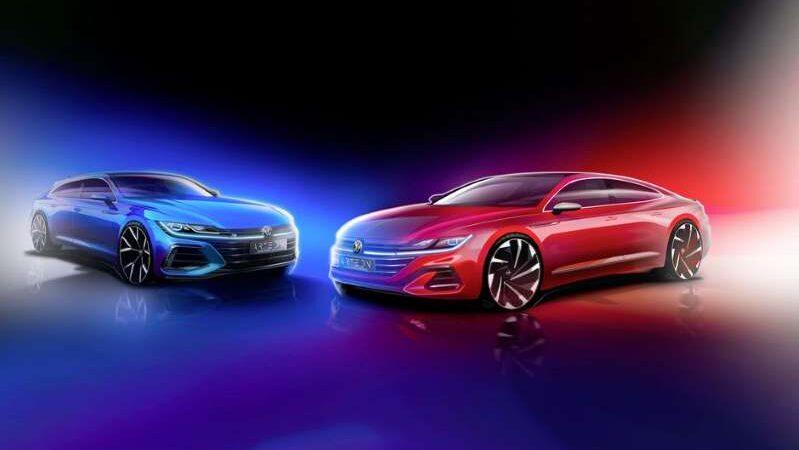 Volkswagen Arteon демонстрирует новые взгляды перед дебютом