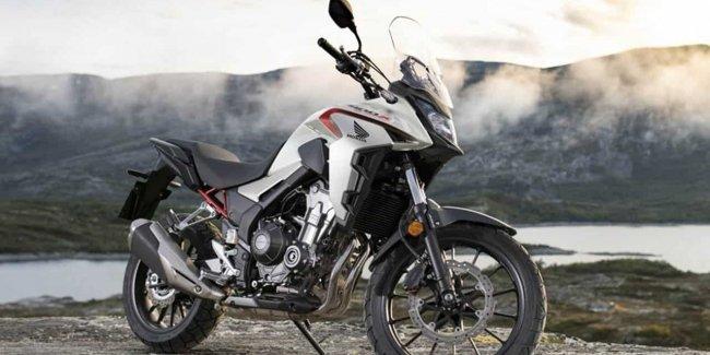 Обновленная Honda CB400X Adventure