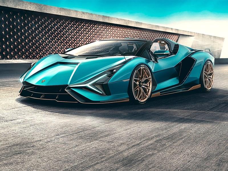 Самый мощный суперкар Lamborghini обзавелся версией без крыши