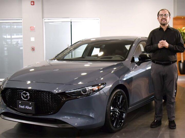 Представлена «заряженная» Mazda 3