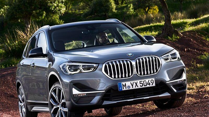 BMW готовит самый маленький электрокроссовер x1