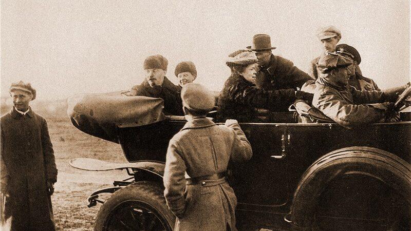 Ретро автомобили – «Ленин и автомобиль»