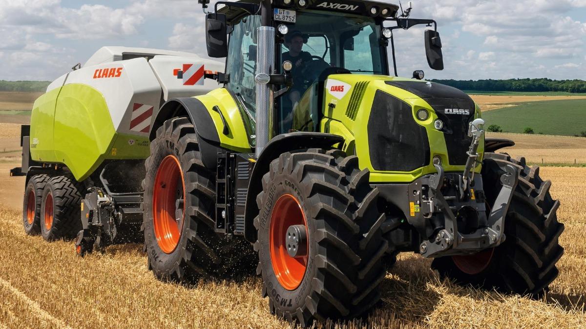 Обновление трактора Axion 800 от Claas