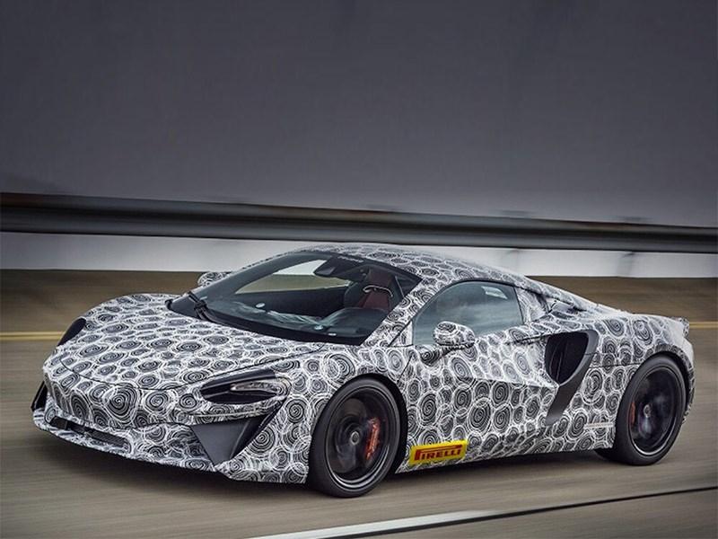 Mclaren готовится к премьере нового гибридного суперкара с битурбированным V6