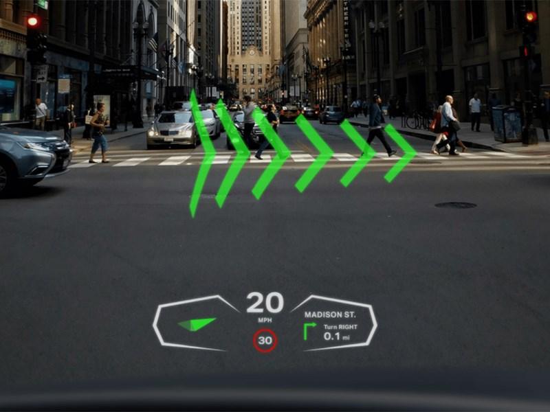 Британцы создали кибер-стекло для автомобиля