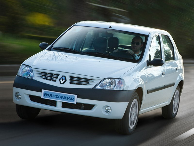 В Иране возобновляется производство первого Logan, а Renault и не в курсе