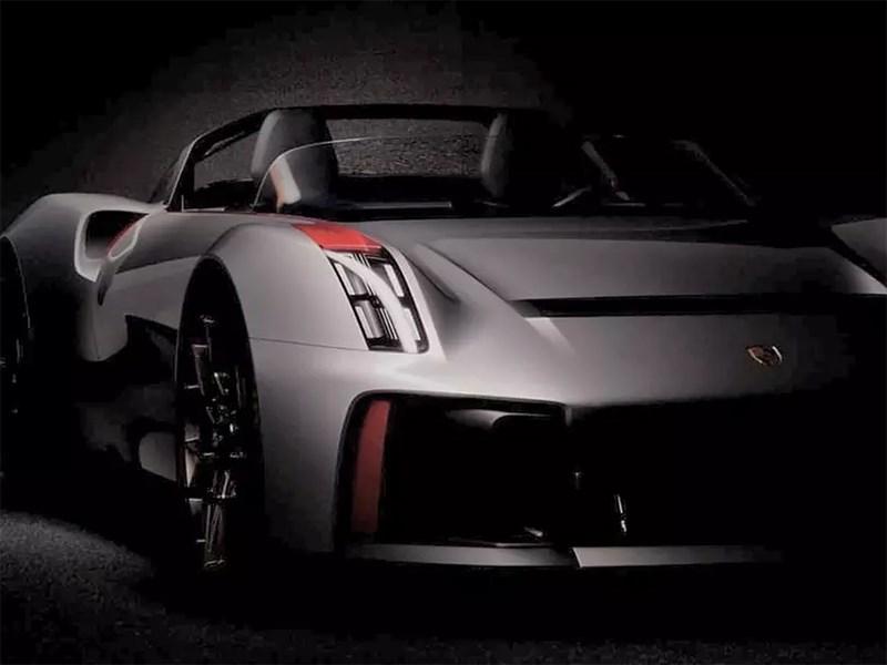 Porsche собирается презентовать некий ретро-проект