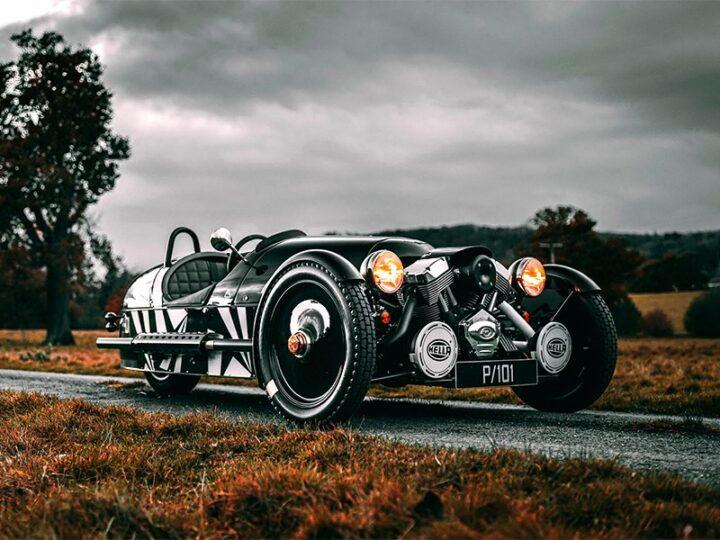 Morgan выпустит прощальную версию трехколесного спорткара 3 Wheeler