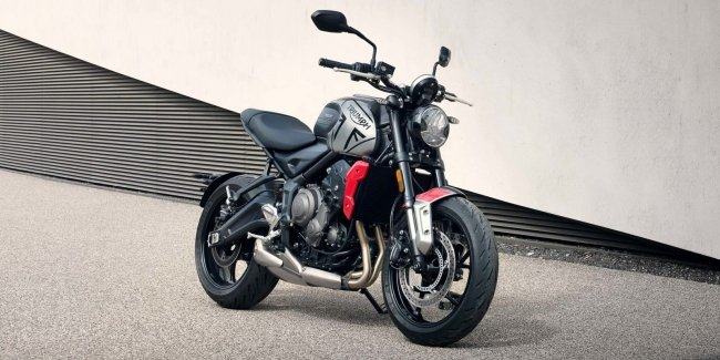 Новый мотоцикл Triumph Trident 660