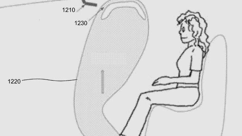 Запатентован новый тип подушки безопасности